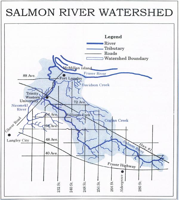Salmon River mapR